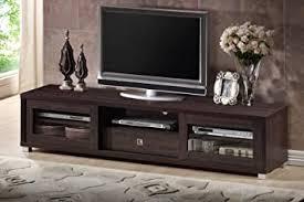 Baxton Studio Wholesale Interiors Beasley <b>TV Cabinet with</b> 2 Sliding