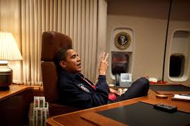 filebarack obama in his air force one office for his first flightjpg air force 1 office