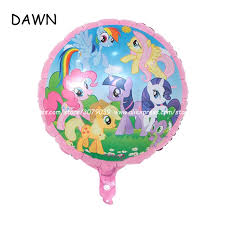 <b>10pcs</b>/lot <b>18 inch</b> cartoon My Little Pony balloons kid toys happy ...