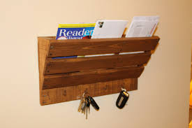 magazine rack wall mount: key holder magazine rack rustic magazine holder and key hook rustic wall rack mail holder mail rack rustic wall mounted magazine rack