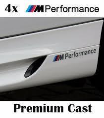 4x BMW <b>M Performance car</b> graphic logo decal Sticker fits M series ...
