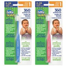 <b>Baby</b> Buddy <b>360</b> Step 1 Soft <b>Toothbrush</b> | Bed Bath & Beyond