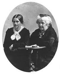 Susan B. Anthony and Elizabeth
