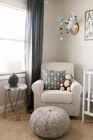 beautiful rustic neutral nursery with gray white and wood accents so many cute baby nursery rockers rustic