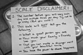 Scale Disclaimer