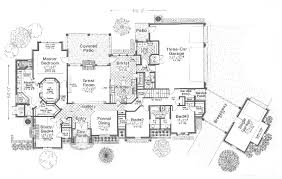 Tallard Luxury European Home Plan D    House Plans and MoreSouthern House Plan First Floor   D    House Plans and More