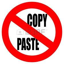 Efek Memasang Script Anti Copy Paste Postingan Blog