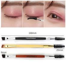 New Double Ended <b>Eye Makeup Brush</b> Eyebrow Eyelash Eyeliner ...