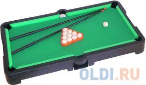 Настольная <b>игра</b> спортивная <b>Огонек</b> Бильярд С-534 1297 ...