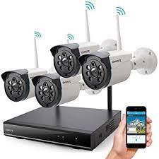 <b>Wireless</b> Security Camera System Outdoor, ONWOTE <b>1080P HD</b>