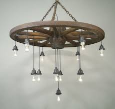 wagon wheel light fixture with mason jars alternating length wagon wheel mason jar