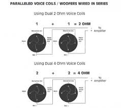 subwoofer wiring diagram dual 1 ohm subwoofer wiring diagram for dvc subs the wiring diagram on subwoofer wiring diagram dual 1 ohm