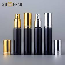 100 Pcs/<b>lot 10ml</b> Refillable Perfume Atomizer Spray Bottle Frosted ...
