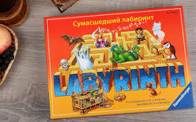 <b>Настольная игра</b> Сумасшедший лабиринт <b>Ravensburger</b> купить ...