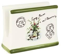 "Купить <b>Салфетница Anna Lafarg LF</b> Ceramics ""Букет"", 11 см (AL ..."
