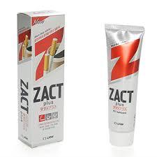 <b>Зубная паста отбеливающая</b> CJ Lion <b>Zact</b> 150 г, Южная Корея ...