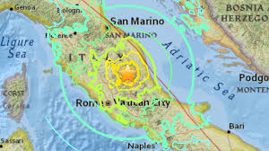 Image result for Earthquake italy 2016