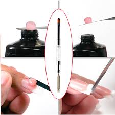 <b>1pc Double Head Painting</b> Gel Brush Dual Side Nail Art Pen French ...