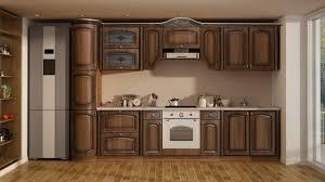 Купить <b>Кухонный гарнитур Селена</b>-60 Орех патина/Ваниль ...