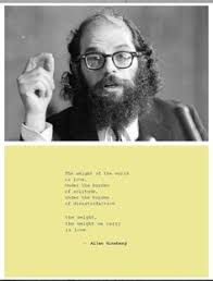 Allen Ginsberg on Pinterest | Beat Generation, Bob Dylan and Jack ... via Relatably.com