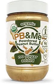 PB&Me <b>Organic Powdered Peanut</b> Butter (No Sugar Added), 200g ...