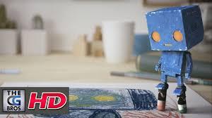 """CGI VFX/3D Promo Spot : """"<b>Cute</b> Robot"""" - by 3D College Denmark ..."""