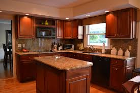 Walnut Floor Kitchen Beautiful Kitchen Design With Walnut Wooden Table Kitchen And