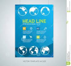 vector maps brochure flyer design templates stock vector image vector maps brochure flyer design templates royalty stock photography