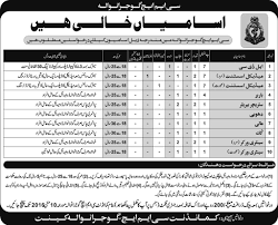 job opportunities in cmh gujranwala 13 2016