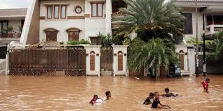 Hasil gambar untuk foto perumahan banjir