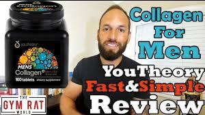 <b>Collagen</b> For <b>Men</b> | <b>Men's Collagen</b> | Youtheory Review - YouTube