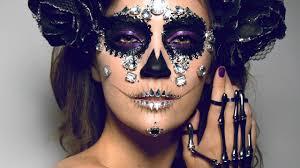 diamond sugar skull makeup tutorial original look