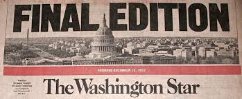 「The Washington Star)」の画像検索結果