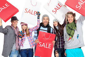 Image result for sale shopping