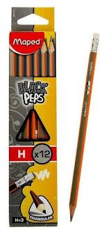 Купить <b>Карандаш чернографитный Maped</b> Black Pep's ...