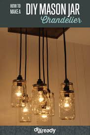 how to make a diy mason jar chandelier jazz up any space with a diy diy vintage mason jar chandelier