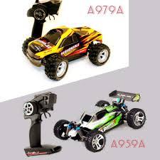 WL Toys A979-A / <b>A959A 1:18 scale</b> 2.4Ghz 35kmh 4WD RC ...