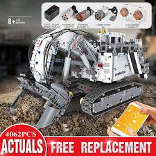 <b>Mould King High tech</b> Remote Control 42100 Liebherrs Excavator ...