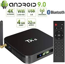 Zedo <b>Android 9.0</b> TV Box <b>TX6</b> Android TV Box 4GB DDR3: Amazon ...