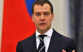 Dmitri Medvedev, the Russian president, has attacked the European Union for seeking to forge closer relations with former Soviet states. - Dmitry-Medvedev_1396075c