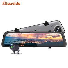 Bluavido <b>2K</b> Resolution Dash cam <b>12 Inch</b> Car Rearview Mirror DVR ...