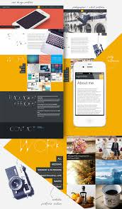one page responsive portfolio template for designers responsive portfolio template screenshots