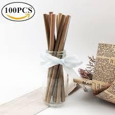 Aliexpress.com : <b>Buy 100Pcs</b>/<b>lot</b> Bamboo Straw <b>Natural Organic</b> ...