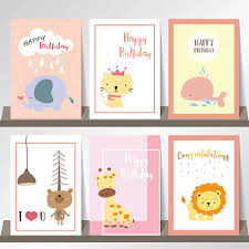 Pink collection for banners,Placards with elephant,cat,whale,<b>bear</b> ...