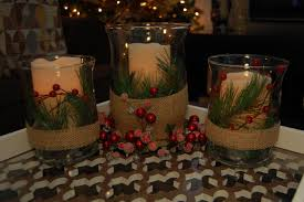 cheap christmas decor: lovely christmas candle centerpieces for my coffee table decorations as well living room design plus home