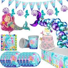 <b>mermaid party</b> supplies