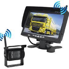 <b>Universal 12V</b>/<b>24V</b> 7 inch TFT <b>LCD</b> Wireless Rear View <b>Monitor</b> ...