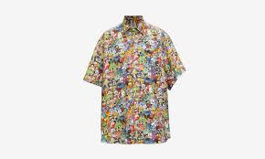 Vetements Releases Colorful <b>Cartoon Print</b> Shirt