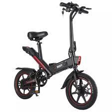 K1 001 <b>DOHIKER</b> Y1 <b>Folding Electric Bike</b>, with 14 Wheels, 10Ah ...