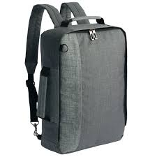 <b>Рюкзак</b> для ноутбука <b>2 в 1</b> twoFold, серый с темно-серым ...